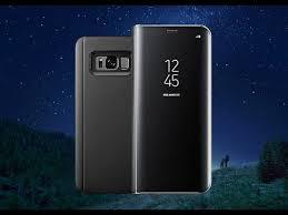 Зеркальный <b>Флип Чехол</b> для Samsung S6,7,8,9,Edge с ...