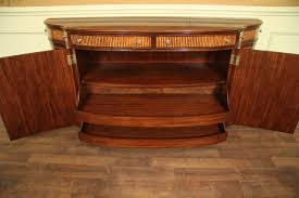 mahogany furniture antique double bow front