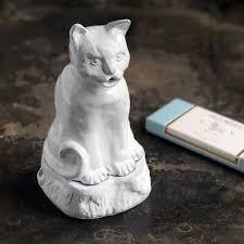 Astier de Villatte <b>Smoking Cat</b> Incense Holder – PATCH NYC