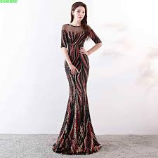 Detail Feedback Questions about 2018 New Real Vestido Longo ...