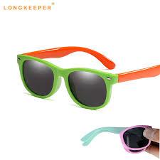 Summer Cute <b>Polarized Kids Sunglasses</b> Flexible <b>Children</b> ...
