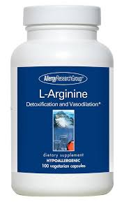 <b>L</b>-<b>Arginine 500</b> mg 100 Vegetarian <b>Caps</b>