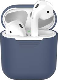 Купить <b>Чехол</b>-<b>футляр Deppa</b> для Apple AirPods Blue по выгодной ...