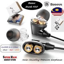 <b>BASEUS Encok H10</b> Earphones Stereo IN-Ear Wired Earphone ...