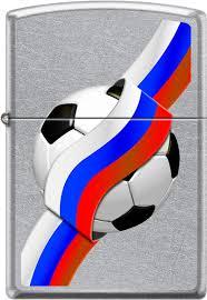 <b>Зажигалки Zippo Z_207-RUSSIAN-SOCCER</b>   www.gt-a.ru