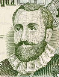 <b>Francisco Hernandez</b> de Cordoba on 10 Centavo 1991 Banknote from Nicaragua. - depositphotos_13870145-Francisco-Hernandez-de-Cordoba
