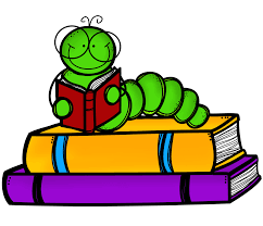 Image result for bookworm animated image