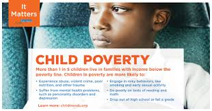 children in poverty child trends