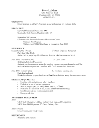 example resume sample personal skills in resume sample personal personal profile template resume template for a chef