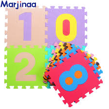 Brand Marjinaa Plus <b>10pcs</b>/pack <b>Baby</b> And Children Play Floor Mat ...