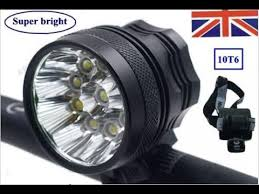 10pcs CREE <b>XM</b>-<b>L T6</b> LED Cycling Bike Front Head Light Bicycle ...