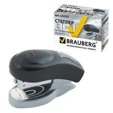 Степлер Brauberg Einkommen N24/6 Мини До 8 Л Пластиковый ...