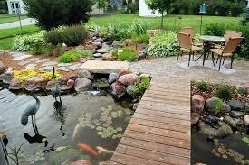 pond patio ideas pinterest