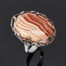 Купить Кольцо <b>яшма пестроцветная</b> Мадагаскар (серебро 925 пр ...