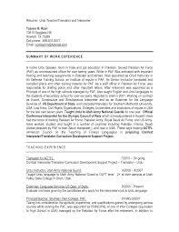 translator resume example order the above cv template for medical translator resume sample handsomeresumepro com
