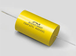 axial lead film capacitor cbb20 capacitor fengming this film capacitor is wrapped adhesive pet tape and axially welded by tinned copper wire