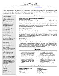 sample management resume format pdf crew supervisor resume cover gallery of sample of management resume