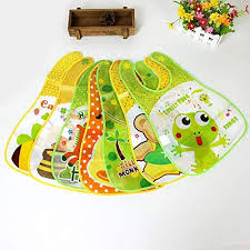 cartoon baby bib apron adjustable