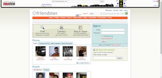 wondering what your favorite websites today looks like back then friendster