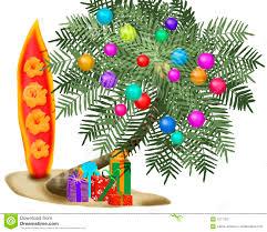 christmas palm tree ornament