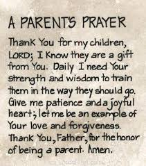 A Parents Prayer, Repeat this prayer to lord Jesus for your kids ...