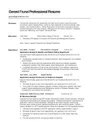 dock supervisor resume isabellelancrayus winsome resume career summary examples easy