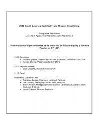 seminario profundizando oportunidades en la industria de private programa