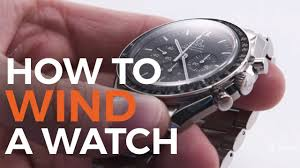 How to Wind a Watch - YouTube