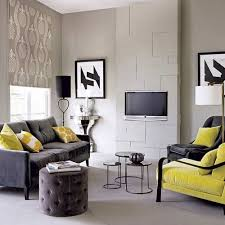 exotic casual small living room grey black and green furniture decoration design casual living room