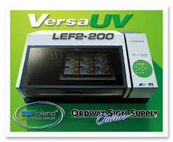 NEW <b>Roland VersaUV LEF2-200</b> Benchtop UV Flatbed Printer Plus ...