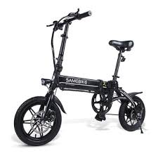 <b>Samebike yinyu14</b> 7.5a 36v 250w 14 in <b>smart folding</b> moped electric ...