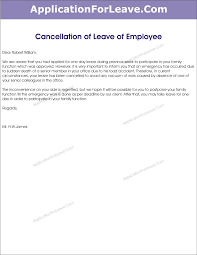 letter to cancel the approved leave of employee due to work in office png letter to cancel approved leave of employee due to work in office