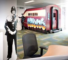 london office design morgan lovell39s splunk office design named uk39s coolest office airbnb office london threefold