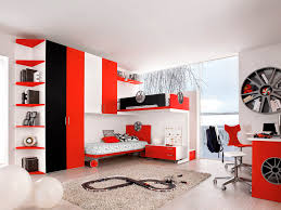 kids sports room ideas modern minimalist bedroom design with white red theme complete with bunk bedroom awesome black white