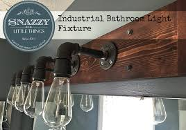 decor chrome bathroom light fixtures edison: vanity  diy industrial bathroom light fixture vanity