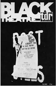 amiri baraka s communications project b town thinking cover black revolutionary theater special issue of the drama review summer 1968