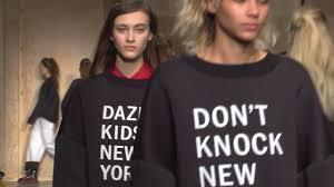 <b>DKNY</b> Fall <b>2016</b> Runway Show - YouTube