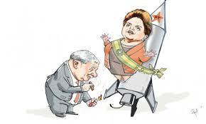 Resultado de imagem para Dilma, boi de piranha de Lula