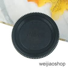 WEIJIAOSHOP Camera Body <b>Cover</b> Lens Rear Cap For Nikon F ...