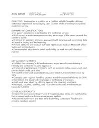 mcdonalds drive thru cashier job description resume sample 231 x 300 150 x 150 · mcdonalds drive thru cashier job description