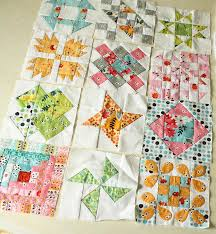 Daisy Chain English Paper Piecing project   Red Pepper Quilts