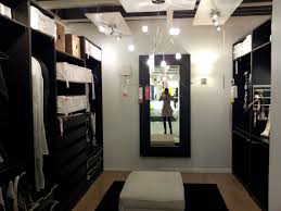 pleasure master bedroom walk in closet designs galley black stained wooden walk in closet with black color shoe rack storage sliding