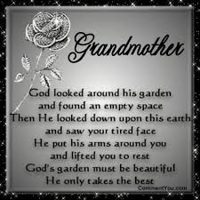 Missing Grandma Quotes on Pinterest | Grandmother Quotes, Funeral ... via Relatably.com
