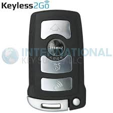 Keyless2Go <b>3 Button Smart</b> Key Remote 315 MHZ <b>Replacement</b> for ...