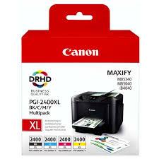 Обзоры модели Набор <b>картриджей Canon PGI</b>-<b>2400 BK</b>/C/M/Y <b>XL</b> ...