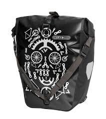 <b>Велосумка</b> Ortlieb Back-Roller <b>Design</b> Dia De La Rueda Black/White