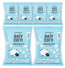 <b>Попкорн Holy Corn</b> Морская соль готовый, 20 г (6 шт.) — купить ...