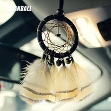 <b>Indian Style Handmade</b> Dream Catcher Feather <b>Car</b> Pendant ...