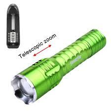 <b>Skywolfeye</b> Mini Zoomable Q5 LED Flashlight Torch Lamp 3000Lm ...