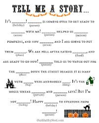 easy halloween activities a thoughtful place halloween mad lib